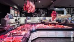 Image: Werner's butcher's shop, Cologne; copyright: BÄRO